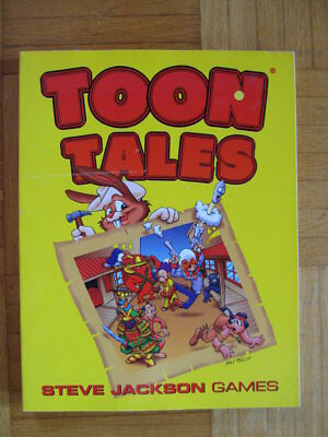 TOON Tables - Cartoon Roleplaying Game - English 7605 Steve Jackson Pyramid Camp