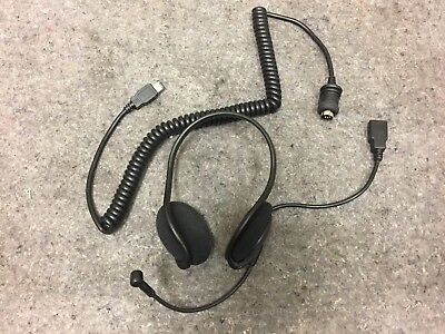 Genuine Harley Davidson Boom Audio Headset Half Helmet Part# 76572-09