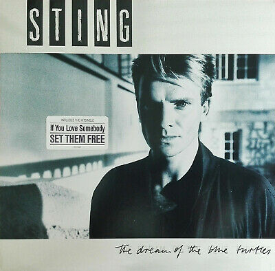 "STING - 12"" Vinyl LP: "" The dream of the blue turtles"" (1985)"