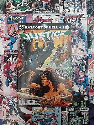 Justice league #32 connecting variant. New bagged and boarded