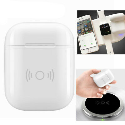 Qi Wireless Charging Protective Case Fast Charger Receiver Box For Apple Airpods