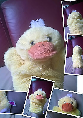 Original Cuddles Collection Handpuppe Ente 25  cm