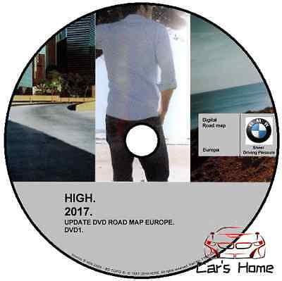Bmw Mappe Europa Road Map High 2017 Con Autovelox Navigatore With Speedcam