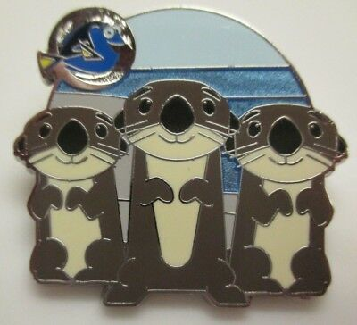 Disney Pin - Pixar - Finding Dory Scavenger Hunt - Otters LE #117555