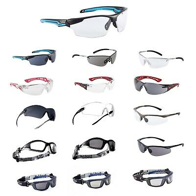 Bolle Various Types Safety Glasses - BOLLE PLATINUM Anti-Fog & Anti-Scratch Lens