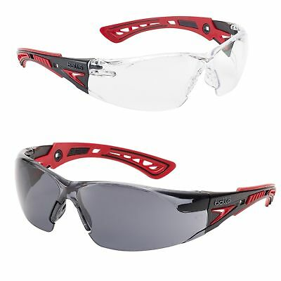 Bolle RUSH+ Safety Glasses BOLLE Platinum Anti-Scratch and Anti-Fog Various Lens