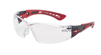Bolle RUSH+ Safety Glasses BOLLE RUSHPPSI Anti-Scratch & Anti-Fog Clear Lens