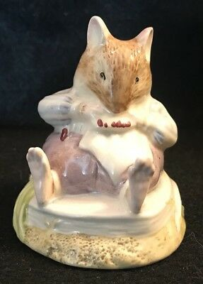 Beatrix Potter Brambly Hedge ~ MR. TOADFLAX Figurine ~ Royal Doulton 1983