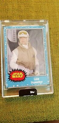 SDCC 2018 EXCLUSIVE Topps Star Wars 5 Card Limited Set #001 / 199