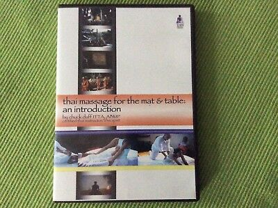 Thai Massage for the Mat and Table: An Introduction Chuck Duff DVD.