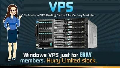 Win Virtual Private Server, Cloud Vps, 4Gb Ram,200Gb Hdd,1Gb Port,Unlimited Bw
