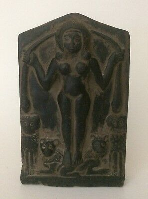 Rare EGYPTIAN ANTIQUES ANCIENT EGYPT Magical Stela Sculpture Relief Stone 343 BC