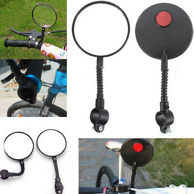 NEW Safety Flexible Handlebar Cycling Bike Bicycle Rear View Rearview Mirror