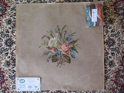 1829/1 QUEEN ADELAIDE tramme tapestry kit includes wool - floral
