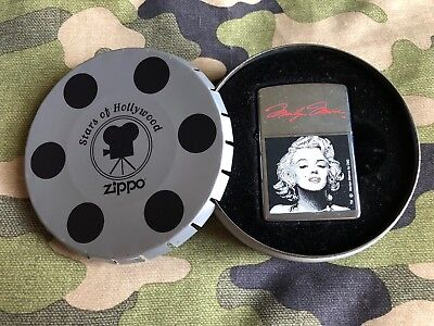 Zippo Stars of Hollywood Marilyn Monroe In Collector Tin