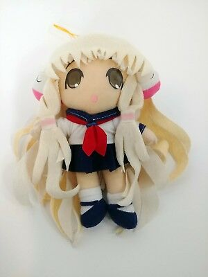 "Chii in Sailor Uniform UFO Catcher 7.5"" Plush Toy Chobits CLAMP without tags"