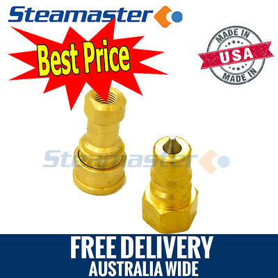 Carpet Cleaning Hose Fittings WHOLESALE 1 Female & 1 Male ¼""