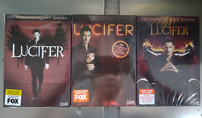 NEW Lucifer Complete Season 123 1 2 3 1-3 (DVD) FREE SHIPPING US SELLER