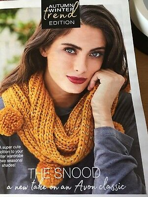 Avon Dottie Knitted Pom Pom Snood Mustard Coloured,better Than Scarf