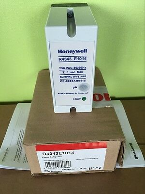 For Honeywell R4343E1014 Flame Burner Detector Monitor Box Burner Controller
