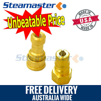 """Carpet Cleaning Hose Connectors 1 Brass Female & 1 Brass Male ¼"""" WHOLESALE"""