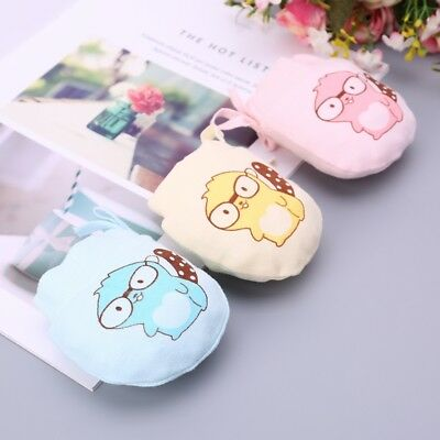 Baby Glove Anti Scratch Hands Face Guard Protection Soft Newborn Mitten Cartoon
