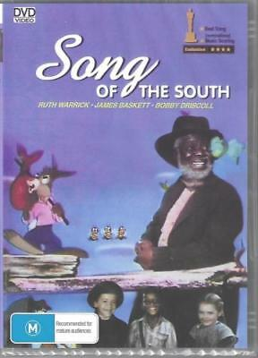 Song Of The South DVD New and Sealed Australia Region 4