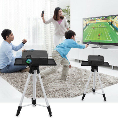 Adjustable Laptop Projector Stand Mount Tripod fr Presentation Home Theatre Game