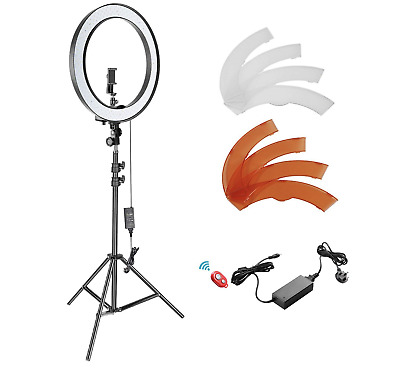 Neewer 18-inch Outer LED Ring Light, Light Stand & Accessories Photography