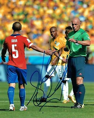 Howard WEBB Signed 10x8 Photo 1 AFTAL COA Autograph Football Referee