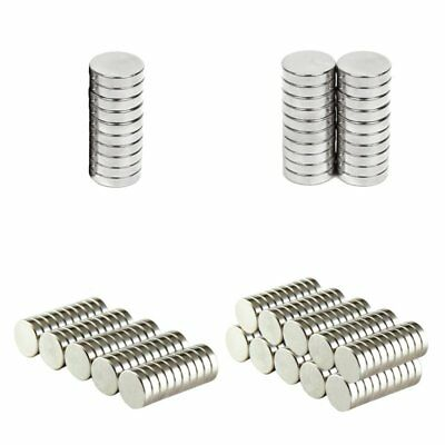 10/20/50/100Pcs Super Strong Round Disc Magnets Rare-Earth Neodymium Magnet