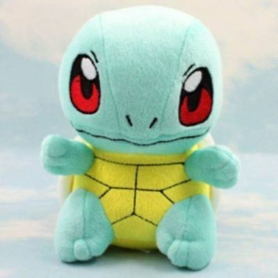 """6.5"""" New SQUIRTLE Pokemon Lovely Stuffed Soft Plush Toys Doll figure Xmas Gift"""