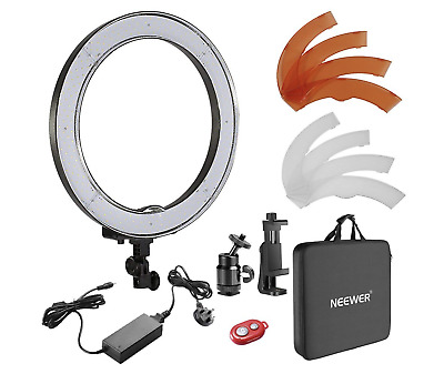 Neewer 18-inch Outer Dimmable SMD LED Ring Light Kit, Photography Youtube Vlog