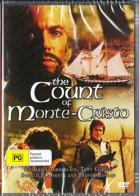 The Count Of Monte Cristo DVD New and Sealed Australia Region 4
