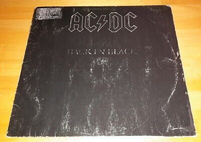 AC DC   Back in Black  Vinyl  LP OIS aus Sammlung
