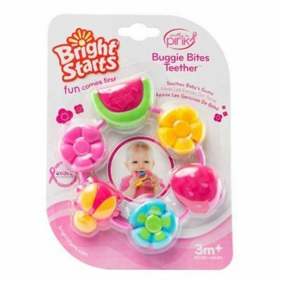 Bright Starts Pretty in Pink Buggie Bites 1 2 3 6 12 Packs