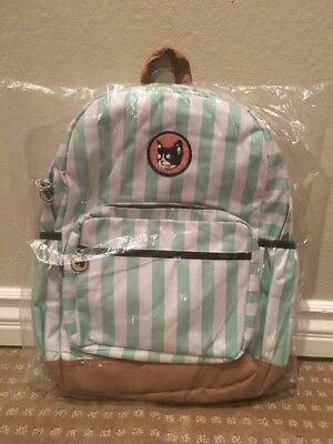 155a82d5ee2507 Camp Flog Gnaw Golf Wang Backpack Odd Future Tyler The Creator RARE Mint  White