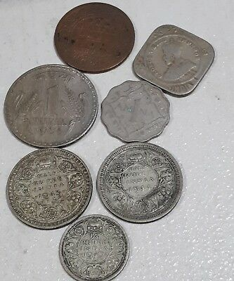 India Coins Vintage