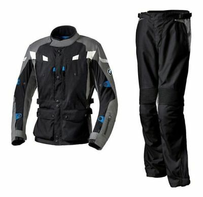 Bmw Motorrad Black/Grey GS Dry Enduro Touring Off Road Textile Suit, All Sizes