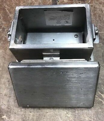 Hoffman A-1008CHNFSS Stainless Steel Enclosure 4x8x10