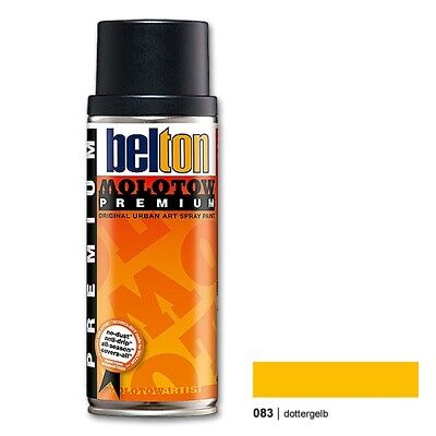 Molotow Premium 083 golden yellow Belton 400ml Sprühdose