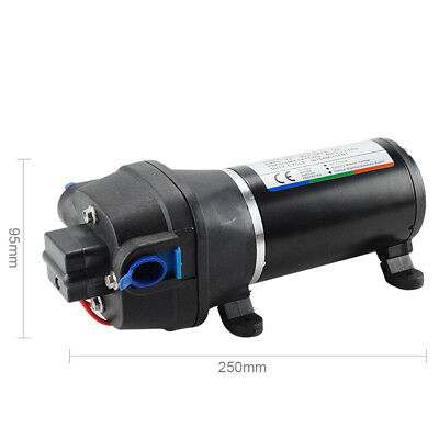 High Pressure Diaphragm Water Pump 12V DC 17L/min 40PSI Yacht Garden Agriculture