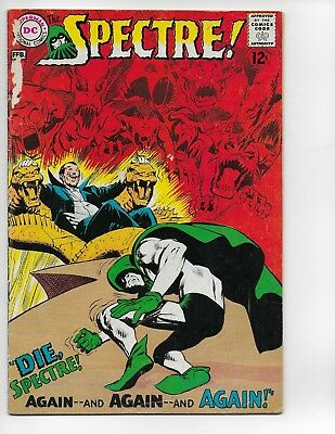 The Spectre #2 Silver Age  DC See Scans