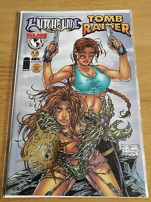 Witchblade Tomb Raider Comic