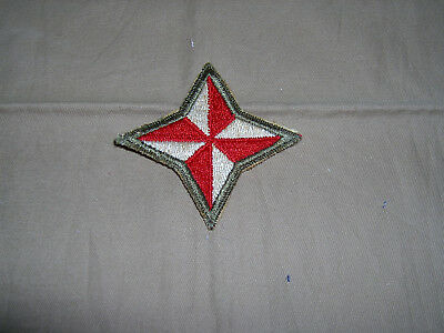 Hard to find Post war 48th  infantry division Florida NG cut edge OD border