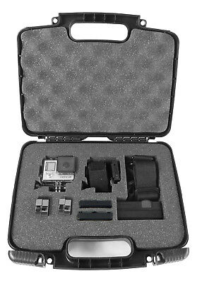 Action Camera Case fits 2 GoPro HERO 2018 or GoPro Hero Session with Accessories
