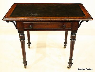 Victorian Mahogany Writing Table, Sofa Table, Desk FREE Nationwide Delivery