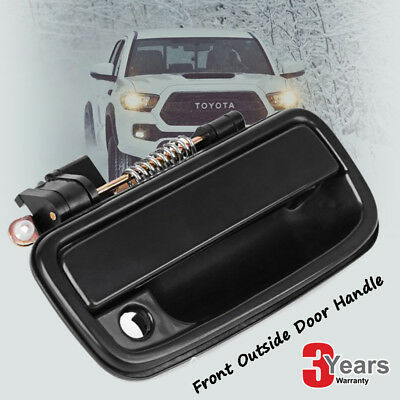 Outside Exterior Door Handle Black  Left & Right For 1995-2004 Tacoma Toyota