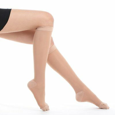 Fytto Women's Compression Socks Size Medium, Color: Nude - New