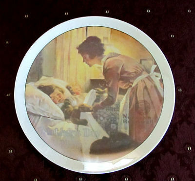 "1976 Knowles NORMAN ROCKWELL Mother's Day ""A Mother's Love"" Collector PLATE"